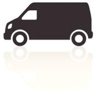 xl wheelbase van same day courier