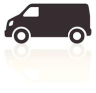 short wheelbase van same day courier
